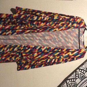 Rainbow Sarah cardigan lularoe